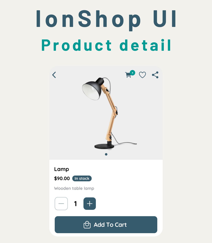 Ionic Angular eCommerce Theme Template
